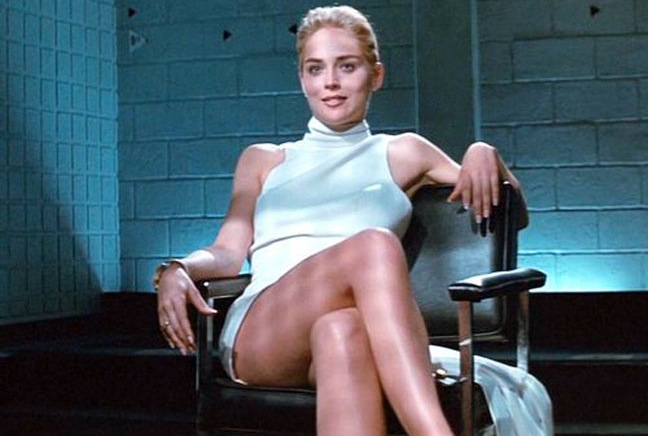 basic instinct, sharon stone, leg cross