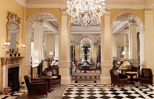 claridges, london, hotel, lobby
