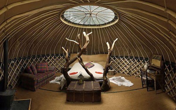 crafty camping, glamping, hotel, dorset