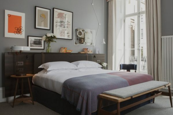 the laslett, hotel, notting hill, london, master bedroom suite