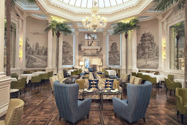 palm court, edinburgh, balmoral hotel, rocco forte