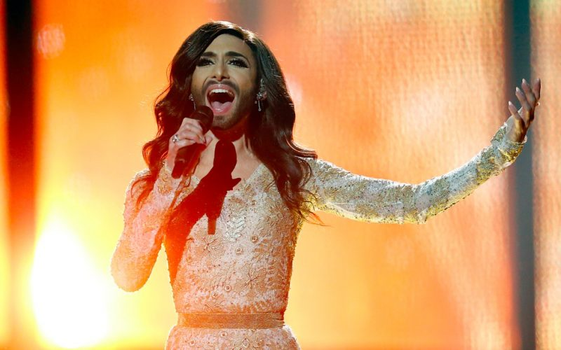conchita wurst, eurovision, bearded woman, chin hairs