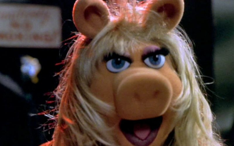 miss piggy, angry, shouting
