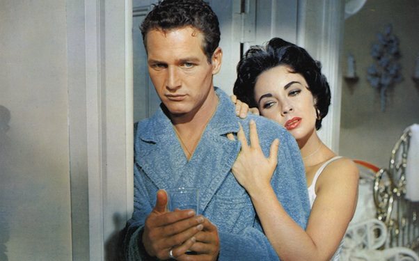 paul newman, elizabeth taylor, cat on a hot tin roof, married couple, marriage