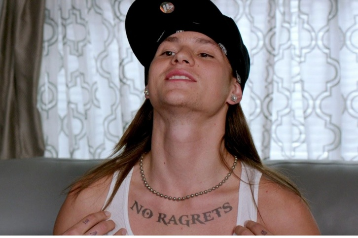 we are the millers, no regrets, tattoo, no ragrets