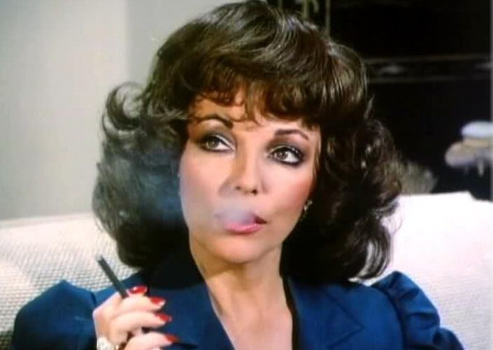 alexis colby, joan collins, strong woman