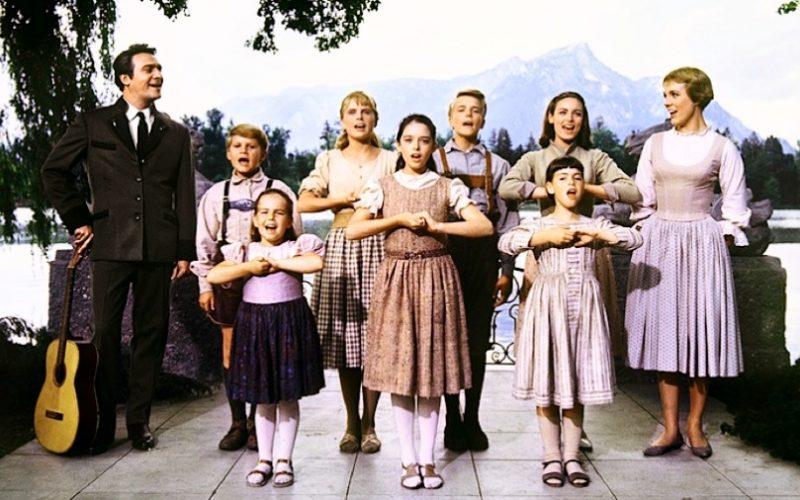 sound of music, von trapp family, von trapp children, julie andrews