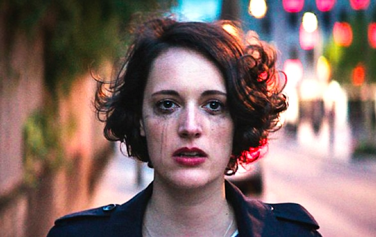 fleabag, crying, sad, mascara, tears