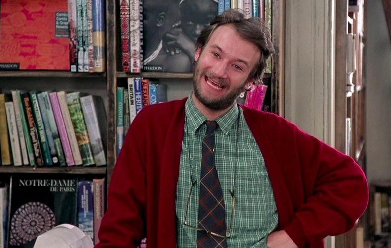 james dreyfus, notting hill, bookstore, shop worker, nosey