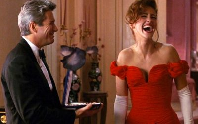 pretty woman, laughing, julia roberts, richard gere, surprised, unexpected