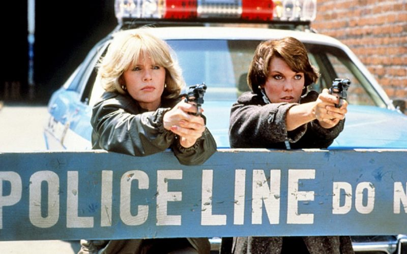 cagney and lacey, cops, gunpoint, police line, tv