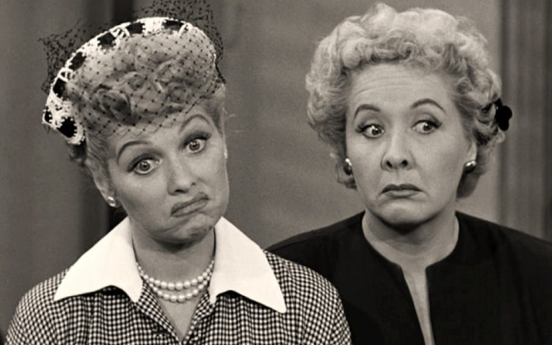 i love lucy, lucille ball, hmm, shoulder shrug, how are you?