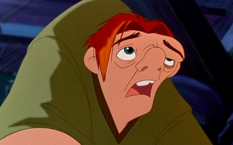 quasimodo, hunchback of notre dame, paris, disney, hunched back, back pain, osteopaths