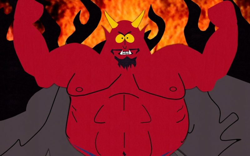 satan, devil, south park, hell