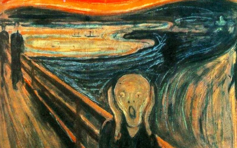 edvard munch, scream, painting