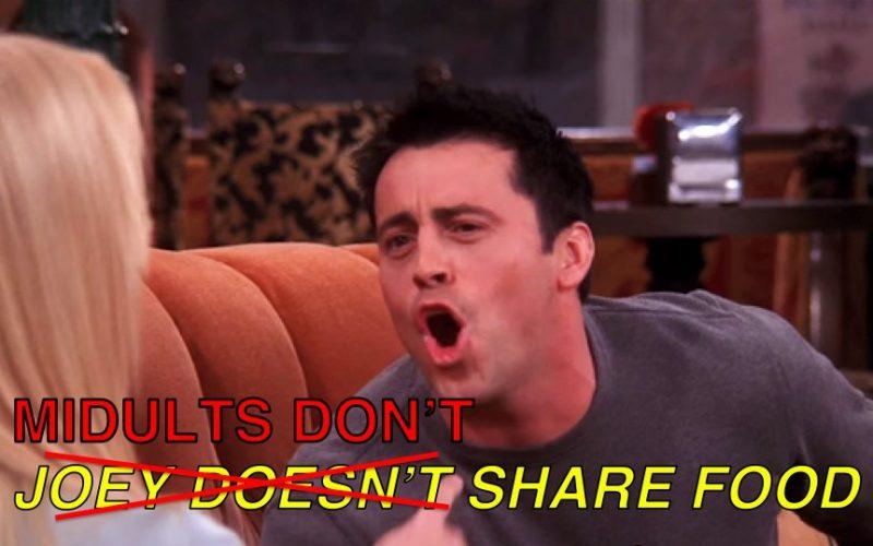 friends, joey, matt le blanc, food, joey doesn't share food, possessive, meme