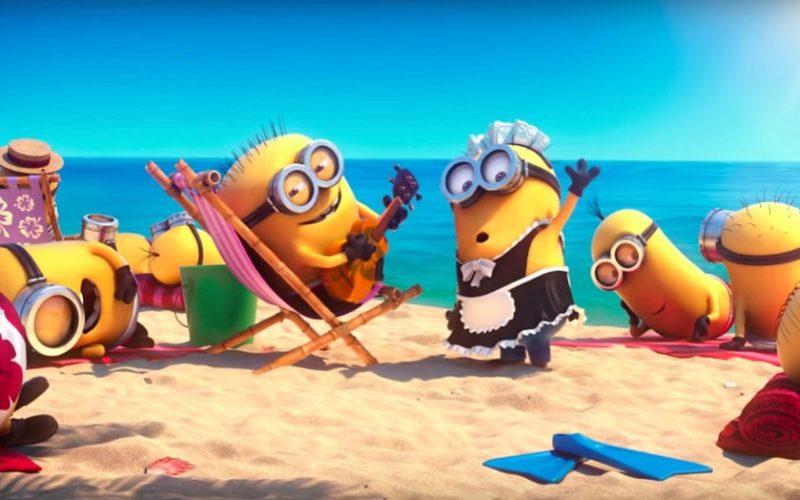 minions, beach, holiday, vacation