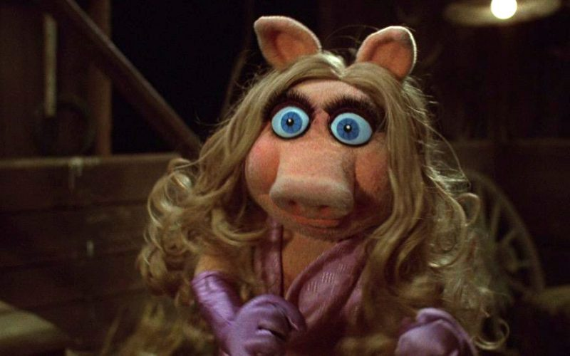 miss piggy, stressed, wide eyed, surprised, tiny stress inducers
