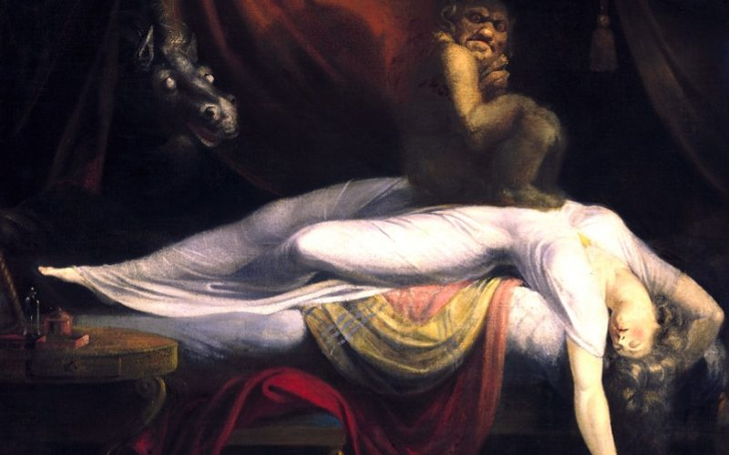 renaissance, painting, the nightmare, john henry fuseli, lying down