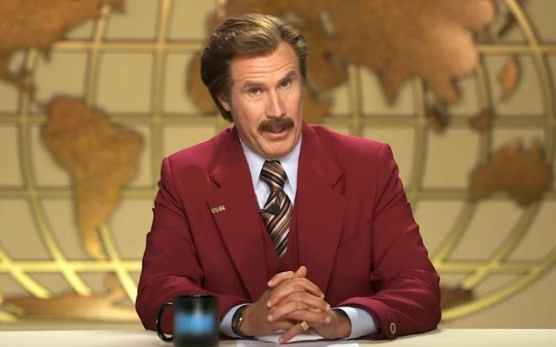 will ferrell, anchorman, alternative facts, lies, midult, in denial, what you don't know can't hurt you, fake news, untrue news