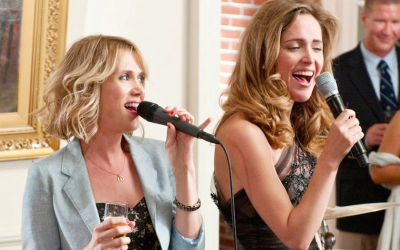 kristen wiig, rose byrne, bridesmaids, maid of honour speech, frenemies, fake friends, forced to be nice