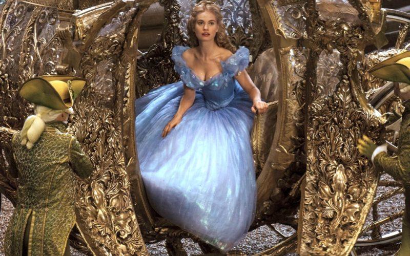 lily james, cinderella, pumpkin carriage, party, seven minute party, quick escape