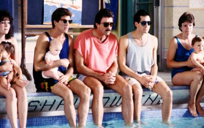 three men and a little lady, 90s screen dads, tv dads, tom selleck, ted danson, steve guttenberg