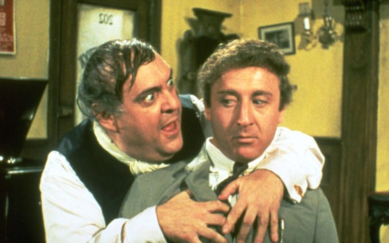gene wilder, the producers, anxiety one upmanship, anxious