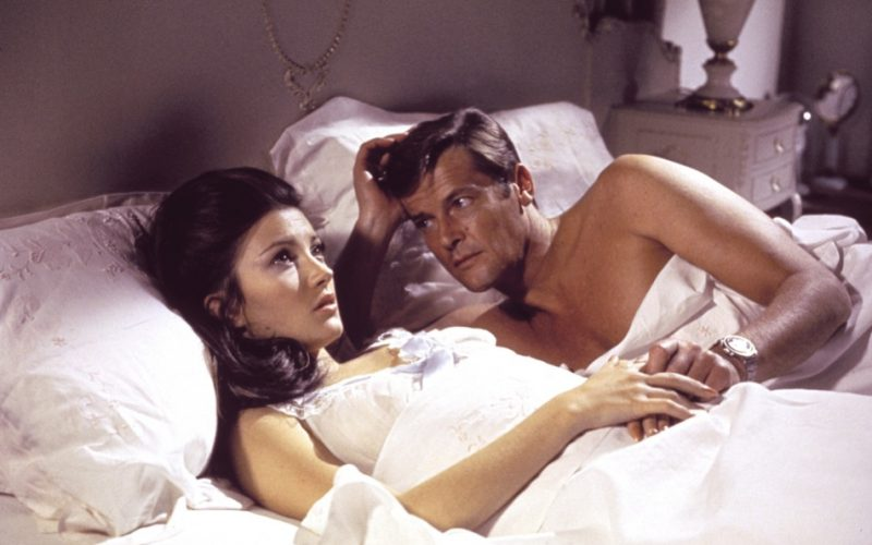 james bond, live and let die, bed, sex, worry, anxious, before sex