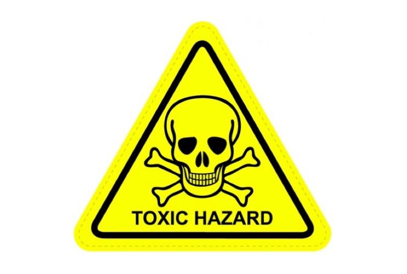 Toxic Hazard Warning Symbol The Midult