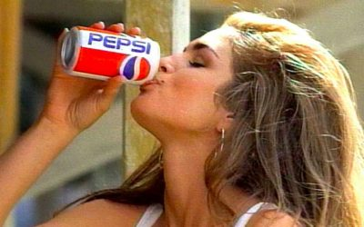 cindy crawford, 90s, pepsi commercial, 1992, model, things we miss, nostalgia, 90s nostalgia