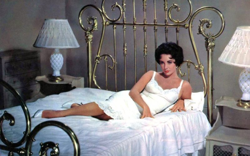 elizabeth taylor, cat on a hot tin roof, bed, lounging, staycation, stay at home, summer plans