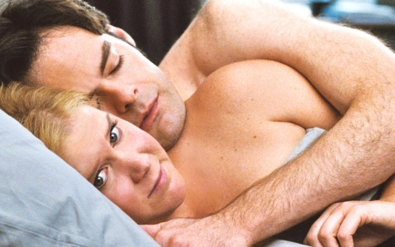 trainwreck, post-coital, bed, sex, sleep, anxiety, worry, after sex