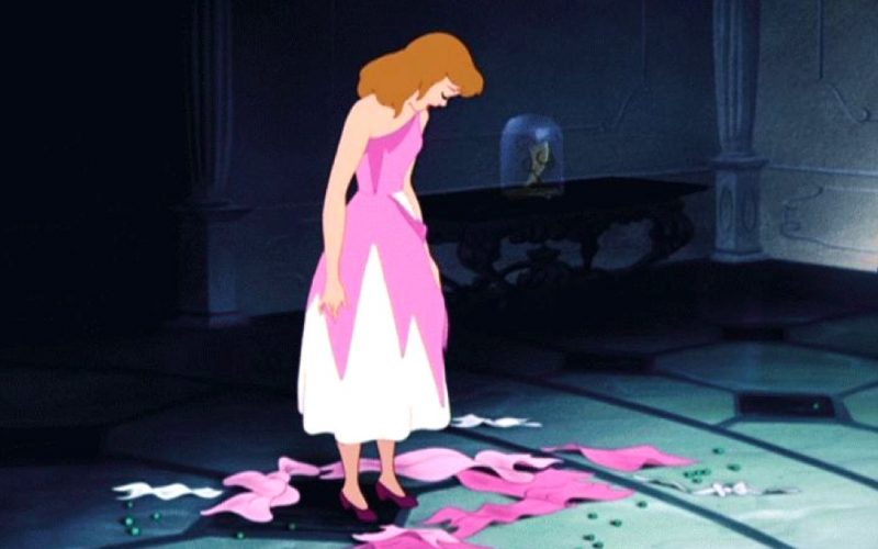 cinderella, disney, hole, rags, ragged, ripped clothes, holes