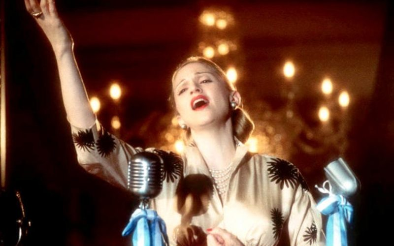 evita, madonna, speech, transmit and receive, on and off days, settings, mood