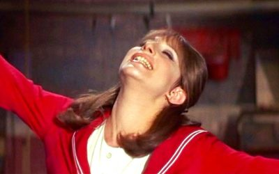 funny girl, barbra streisand, fanny brice, arms stretched out, arms wide, breathing space