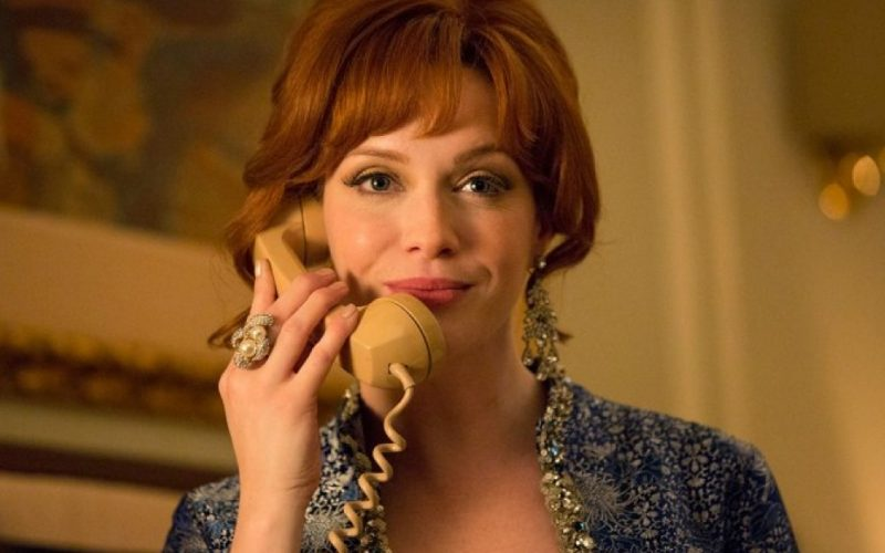 mad men, joan, christina hendricks, phone, heart sinkers, disappointing