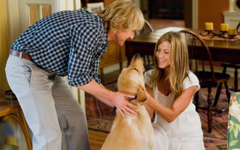 marley and me, jennifer aniston, owen wilson, dog, excuse, fail safe, catch all, get out, exit strategy