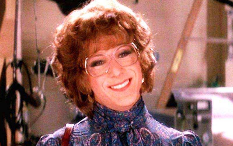 tootsie, dustin hoffman, smiling, subtext, honest subtitles