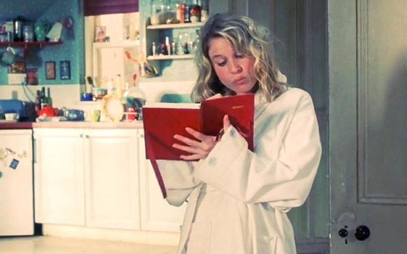 bridget jones, renee zellweger, writing list, to do list, list