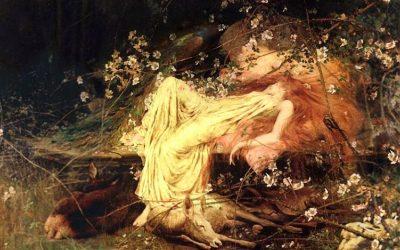 sleeping beauty, arthur wardle, painting, adventures in insomnia, insomnia, sleeplessness, september insomnia