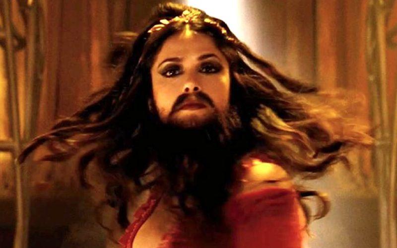 cirque du freak, salma hayek, beard, chin hairs, hairy, hair