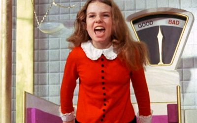 veruca salt, charlie and the chocolate factory, angry, impatient, impatience, short temper, horrible personality