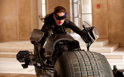 catwoman, anne hathaway, car, driving, conversations you have with yourself, monologue