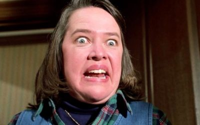 kathy bates, misery, hormonal, hormones, emotional, crazy, mad, depressing doppelganger