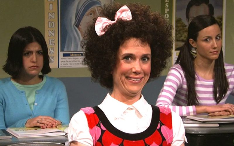 kristen wiig, snl, smiling, forced smile, happy, happy?, are you happy?, awkward