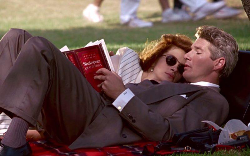 pretty woman, julia roberts, richard gere, picnic, reading, autumn reading list, books, reading