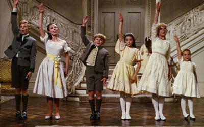 sound of music, von trapp children, say goodbye, so long farewell, leave party