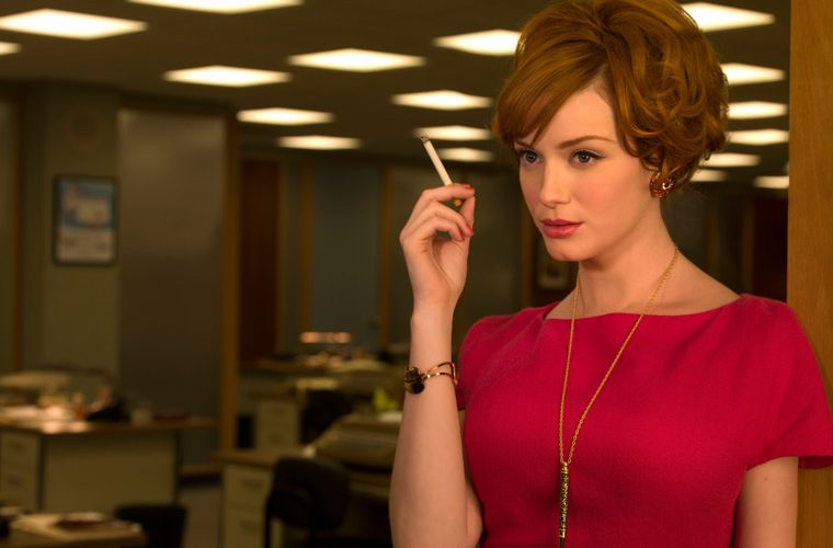 christina hendricks, mad men, shifty, secretive, need to know basis