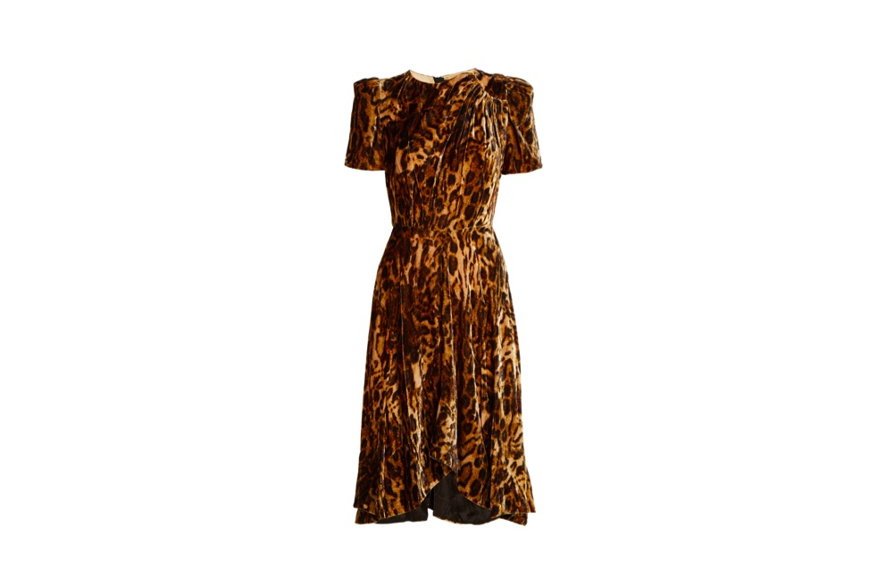 isabel marant, ulia, leopard print, sex, dress, expensive
